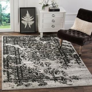 Safavieh Adirondack Silver/ Black Rug (4' x 6')