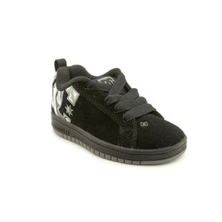 DC Boy (Youth) 'Court Graffik SE' Nubuck Athletic Shoe (Size 12 )