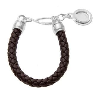 Sunstone Catherine Canino Sterling Silver Horseshoe Woven Bracelet
