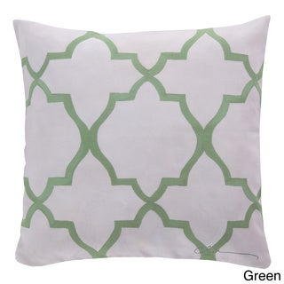 Outdoor Diamond Lattice Accent Pillow