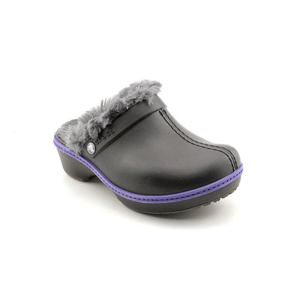 Crocs Girl (Youth) 'Cheerful Christy' Leather Casual Shoes