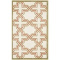 Safavieh Amherst Indoor/ Outdoor Ivory/ Light Green Rug (2'6 x 4')