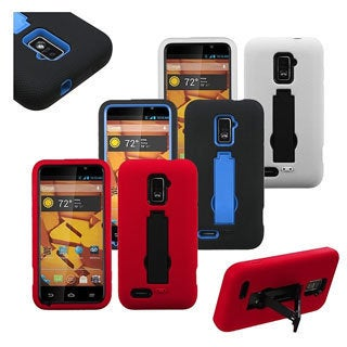 INSTEN Symbiosis Stand Phone Case Cover for ZTE N9510 Warp 4G