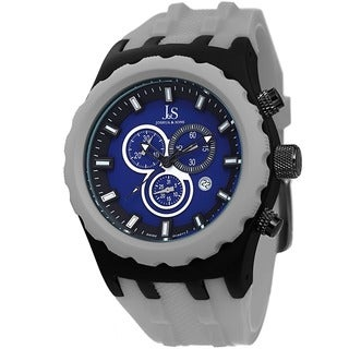 Joshua & Sons Men's Chronograph Silicon Strap Watch
