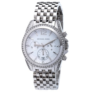 Michael Kors Women's MK5834 'Pressley' Silver Watch