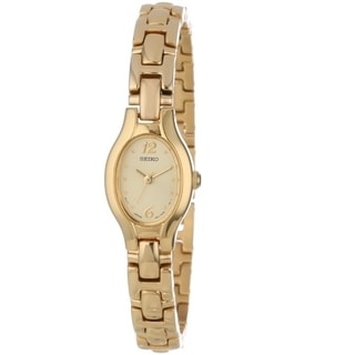 Seiko Women's SXGJ72 Goldtone Watch