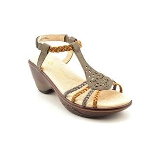 Jambu Women's 'Petal' Leather Sandals (Size 7.5 )