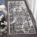Safavieh Adirondack Silver/ Black Rug (2'6 x 10')