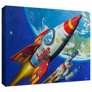 ArtWall Eric Joyner 'Spacepatrol2' Gallery-wrapped Canvas