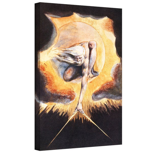 "ArtWall William Blake 'The Ancient of Days, from 'Europe a Prophecy"" Gallery-wrapped Canvas"
