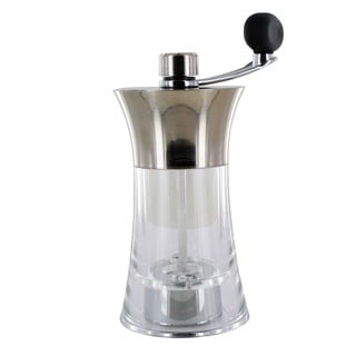 Trudeau Chrome/Clear 7-inch Easy Grind Pepper Mill (0716027)