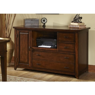 Liberty Tobacco Finished 52-inch Mobile Credenza