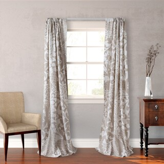 City Scene Medley Cotton 4-piece Lined Window Panel Set