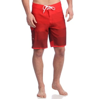 Zonal Men's 'Gradual' High Risk Red Stretch Boardshorts