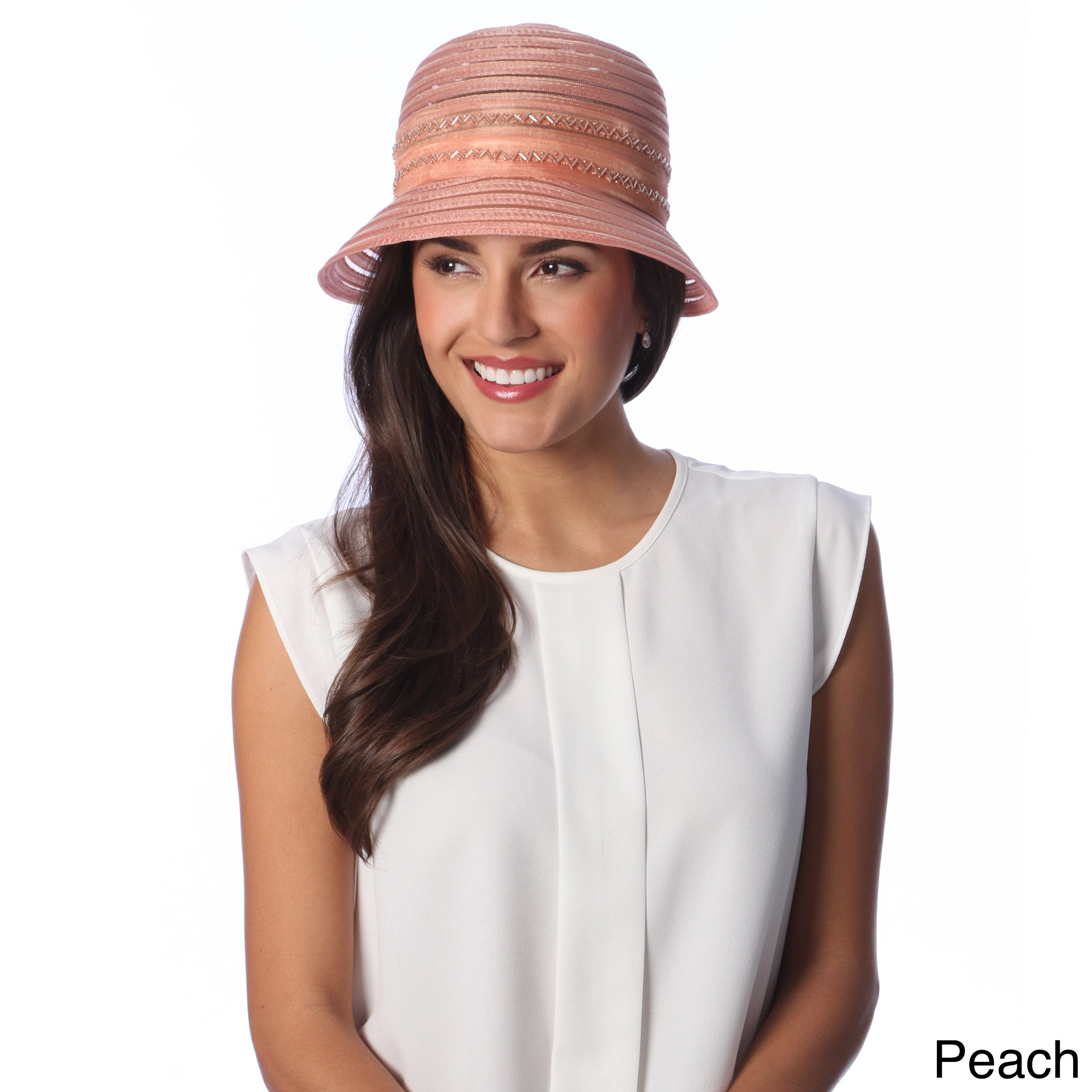 2a30f0754b4 Swan Hat Swan Hat Womens Lightweight Crushable Organza Ribbon Bucket Hat  Other Size Adjustable