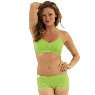 New Balance Women's Green T-shirt Sports Bra