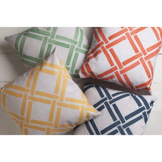Basket Weave Indoor/ Outdoor Accent Pillow