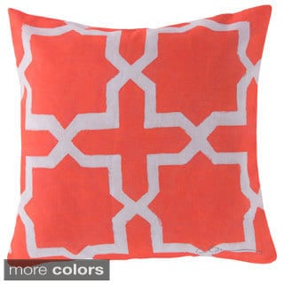 Square Lattice Indoor/ Outdoor Accent Pillow