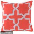 Square Lattice Indoor/ Outdoor Accent Pillow