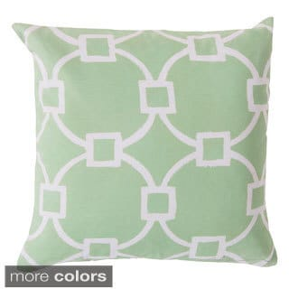 Geometric Links Indoor/ Outdoor Accent Pillow