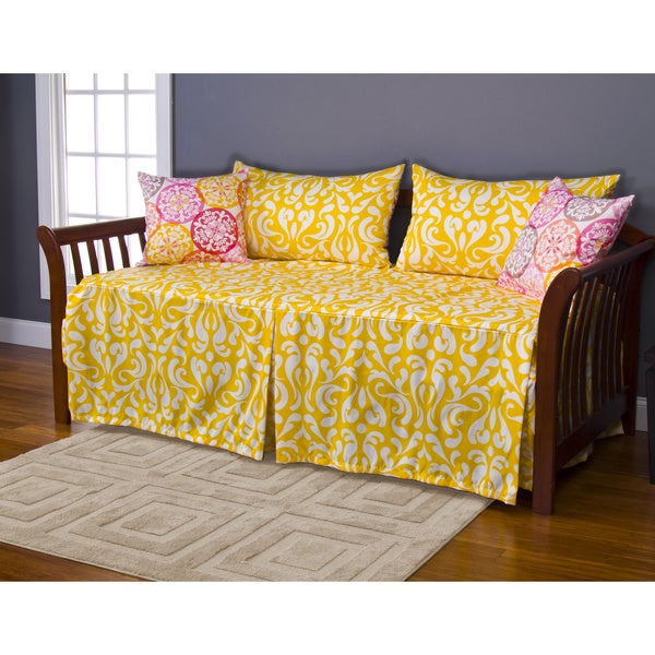 Porch & Den Cannonborough Bogard 5-piece Daybed Ensemble
