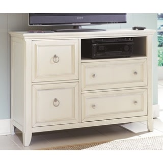 'Courtney' Cottage White Media Chest
