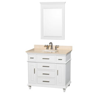 Berkeley White 36-inch Single-sink Bathroom Vanity