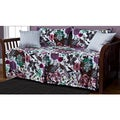 Garden Fantasy White 5-piece Daybed Ensemble