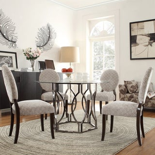 Inspire Q Kona 5-piece Hexagonal Dining Set