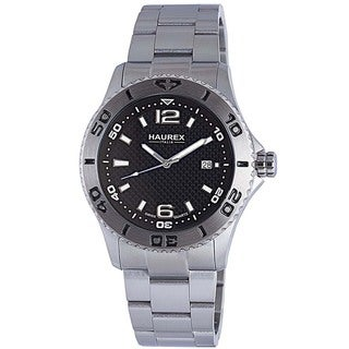 Haurex Italy Men's Factor Unidirectional Bezel Watch