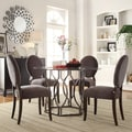 Kona 5-piece Glass Top Hexagonal Dining Set