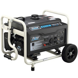 Pulsar Products 4,500-watt Gasoline Powered Portable Generator