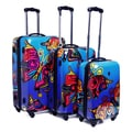 Heys USA Novus Art Butterfly 3-piece Hardside Spinner Luggage Set