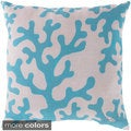 "18"" or 20"" Coral Reef Indoor/ Outdoor Accent Throw Pillow"