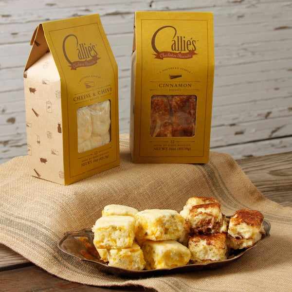 Callie's Cheese and Chive and Cinnamon Biscuits Bundle