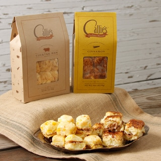 Callie's Cocktail Ham Biscuits and Cinnamon Biscuits Bundle