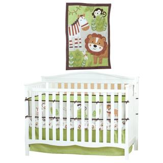 Summer Infant Jungle Buddies 4-piece Nursery Set