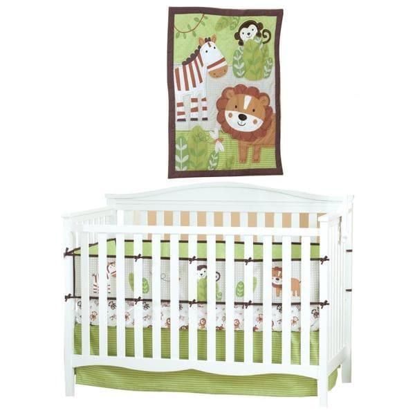 Summer Infant Jungle Buddies 4-piece Nursery Set