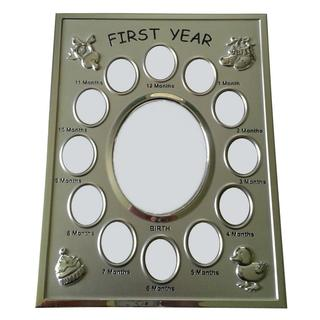 Malden Int'l. Designs Baby's First Year Collage Picture Frame