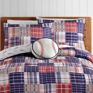 VCNY Home Run 4-piece Comforter Set