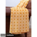 Cane Print 50 x 60-inch Fleece Throw