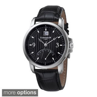 Earnshaw Men's Fitzroy Leather Watch