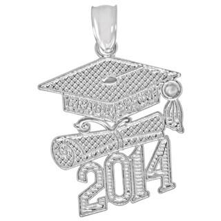 Sterling Silver 2014 Graduation Charm