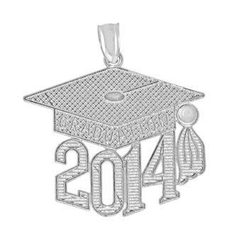 Sterling Silver 2014 Graduation Charm