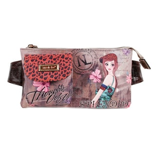 Nicole Lee Muneca Print Stylish Adjustable Waist Pack