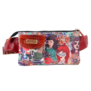 Nicole Lee Exclusive Print Adjustable Waist Pack