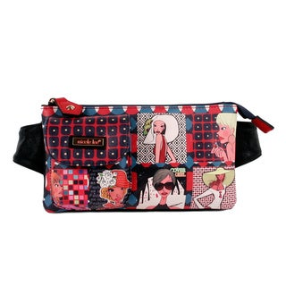 Nicole Lee Exclusive Print Fashionable Girls Adjustable Waist Pack