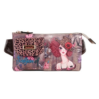 Nicole Lee Muneca Print Adjustable Waist Pack