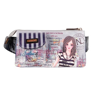 Nicole Lee Muneca Print Dolly Adjustable Waist Pack