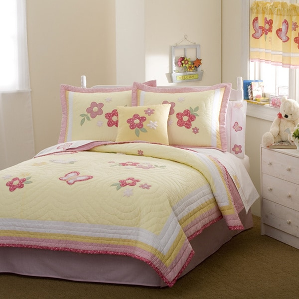 Golden Trail Cotton 3-piece Quilt Set
